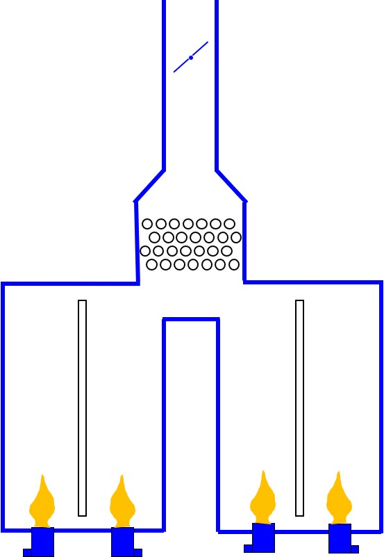 Multi-cell Box Heater w/ vertical coils