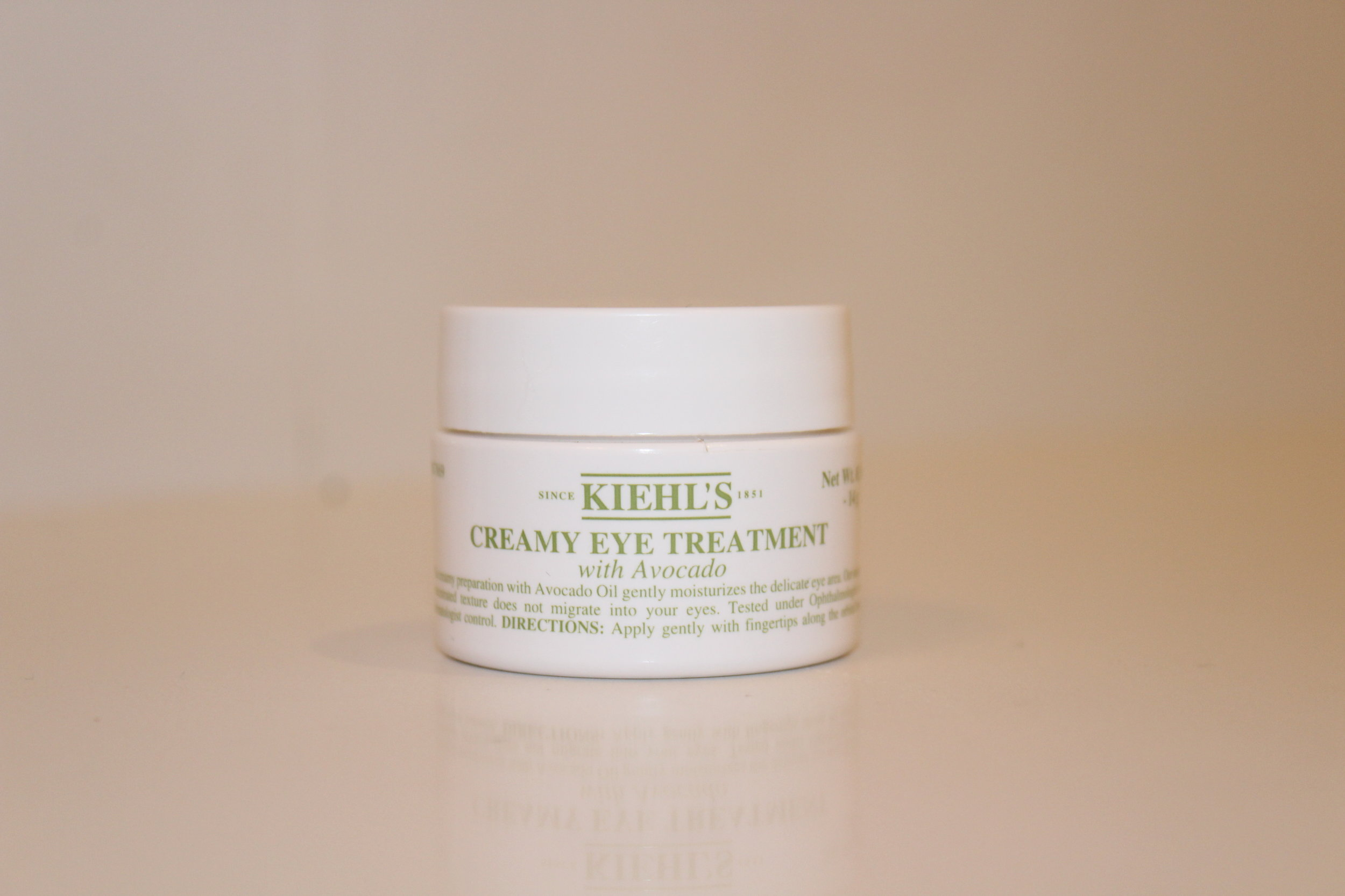 Kiehl's creamy eye treatment - This eye cream is super helpful if you ever have puffy eyes or dark circles. It had avocado and is moisturizing and gentle on your sensitive under-eyes.