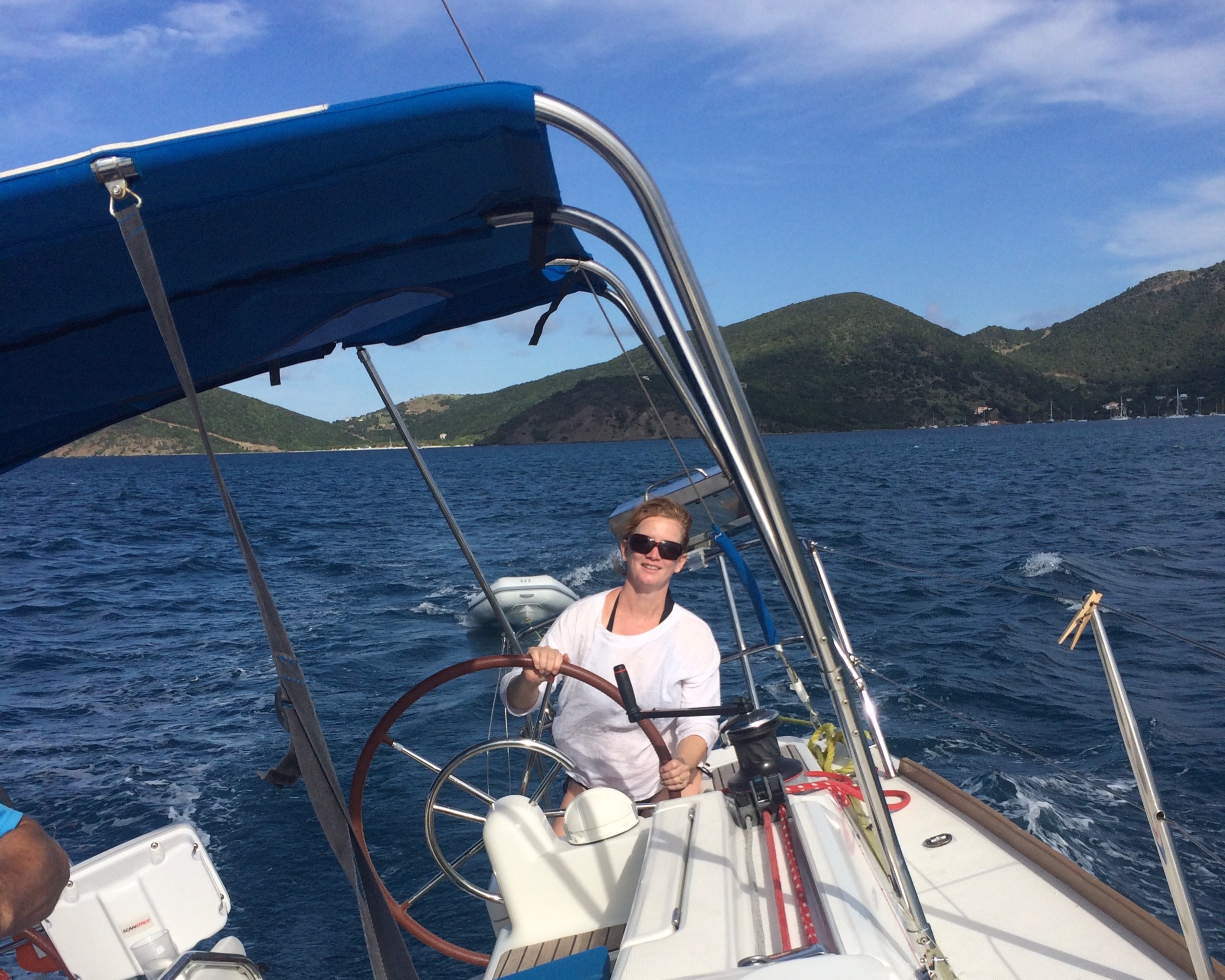Bareboating in the British Virgin Islands.