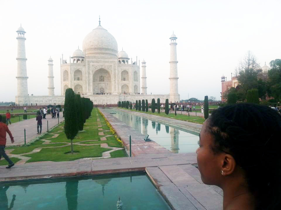 key at the taj mahal