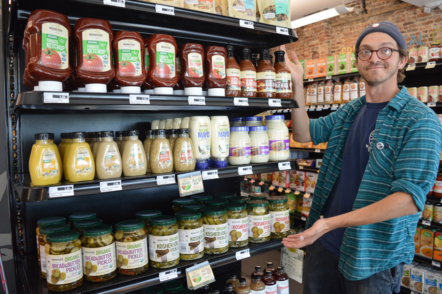 Consumer-owned grocery store shelves! -