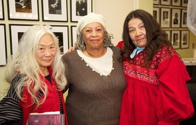 Name a more iconic literary trio than the time Toni Morrison, Maxine Hong Kingston, and Leslie Marmon Silko rode a boat together down the Li River in China in 1985 and then reunited in 2011