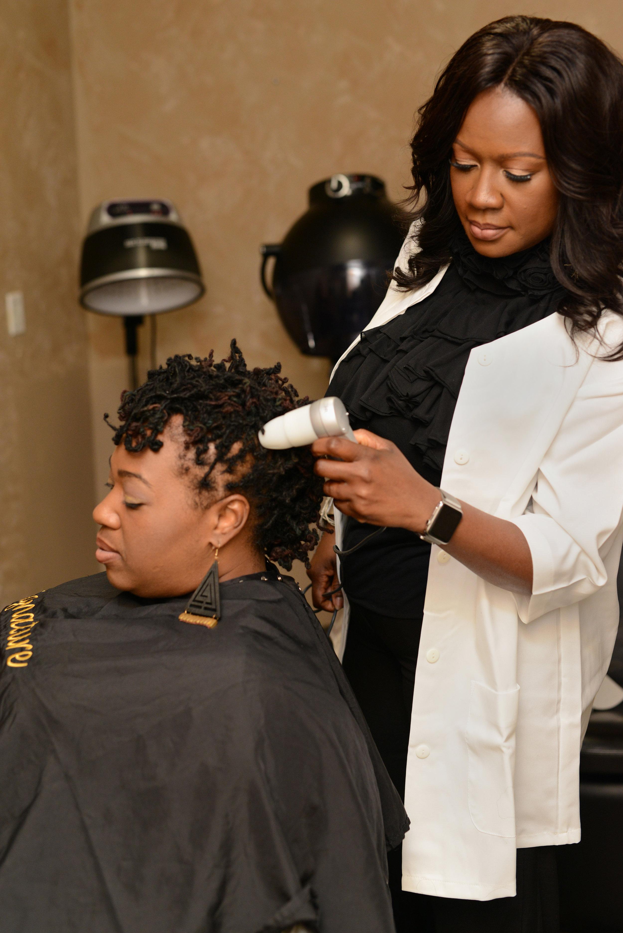 Linda Boyce - Creative Director. Hair Loss Expert.Owner of Signature Salon