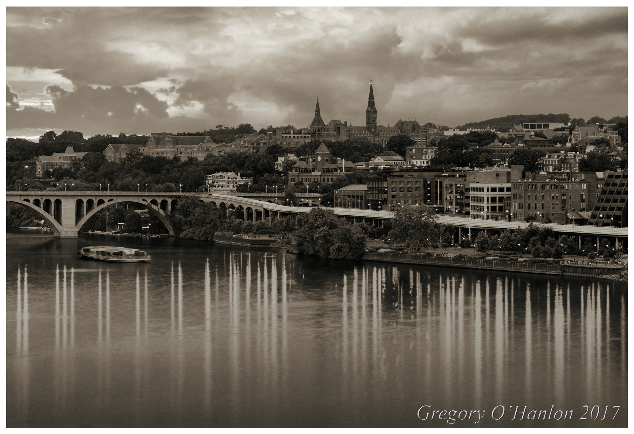 Georgetown at Twilight