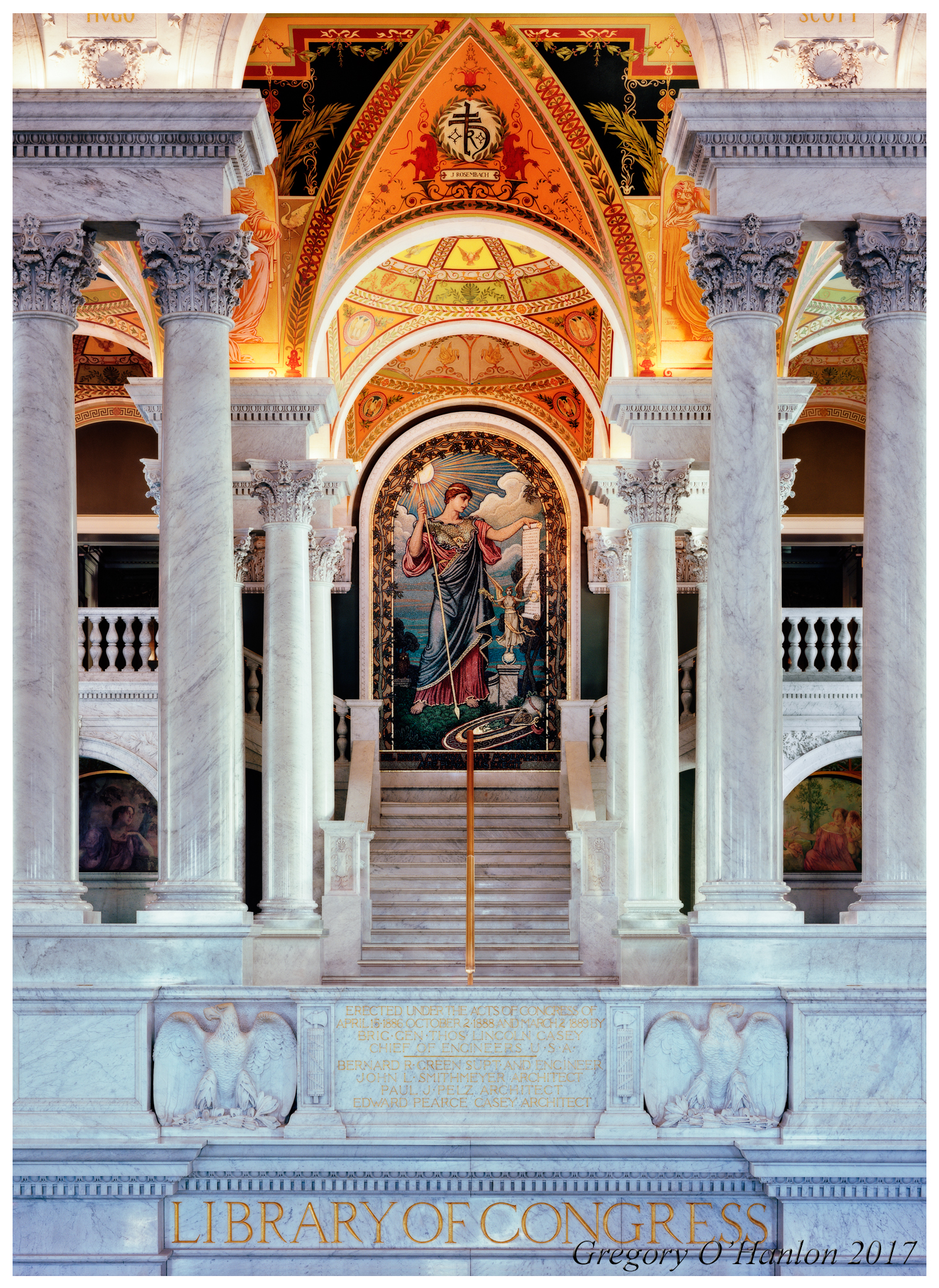 Mosaic of Minerva - Library of Congress