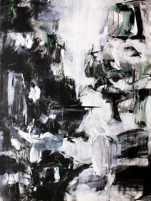 Jay Peterzell -  Hay Stacks Fells  - 48 x 36 - acrylic on canvas