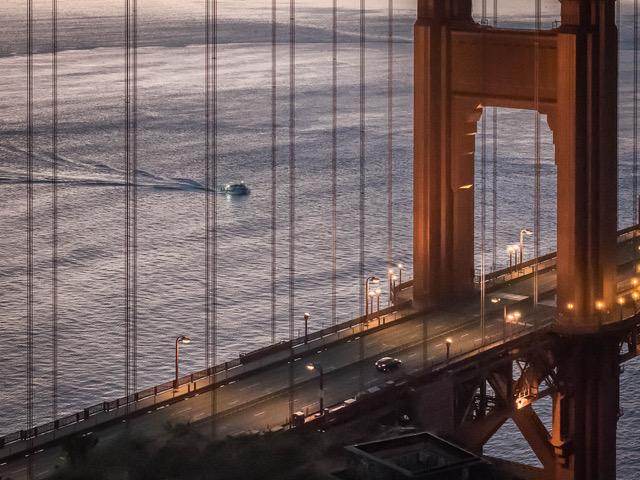Kathryn Mohrman - Golden Gate Sunrise - Photography - 22 x 18