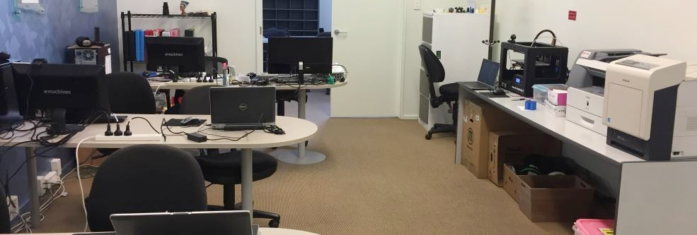 Half of our office.
