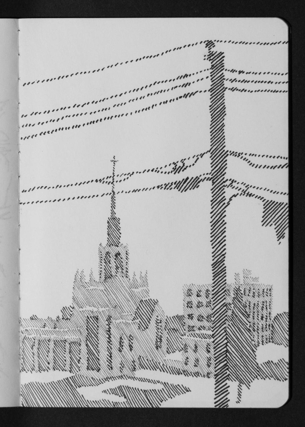 04-12 Minneapolis Church Spire from AirBnB.jpg