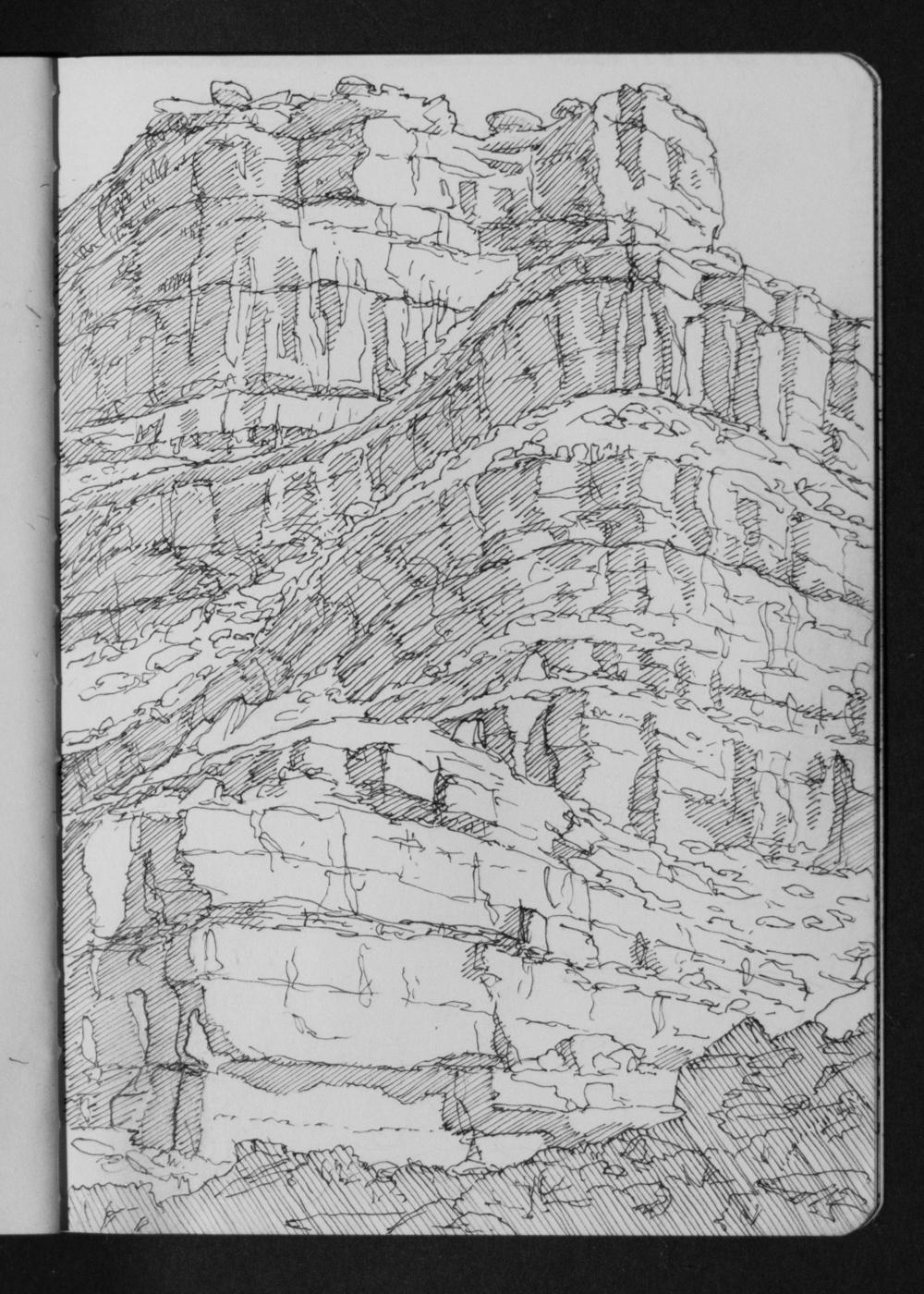 04-20 San Juan Slickhorn Canyon Mouth Northern Walls.jpg
