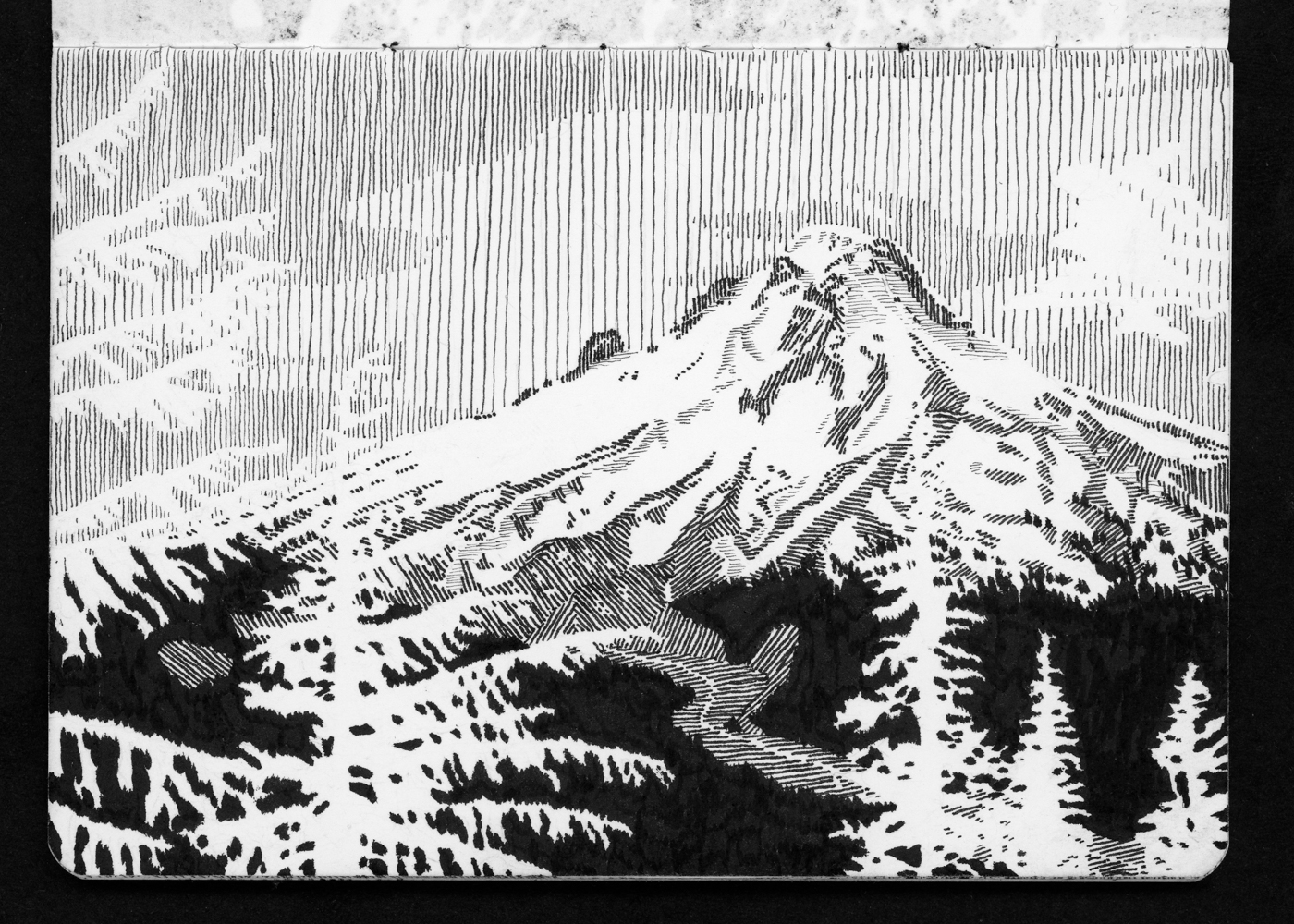 05-07 Mt Hood Over White River Canyon from Barlow Butte.jpg