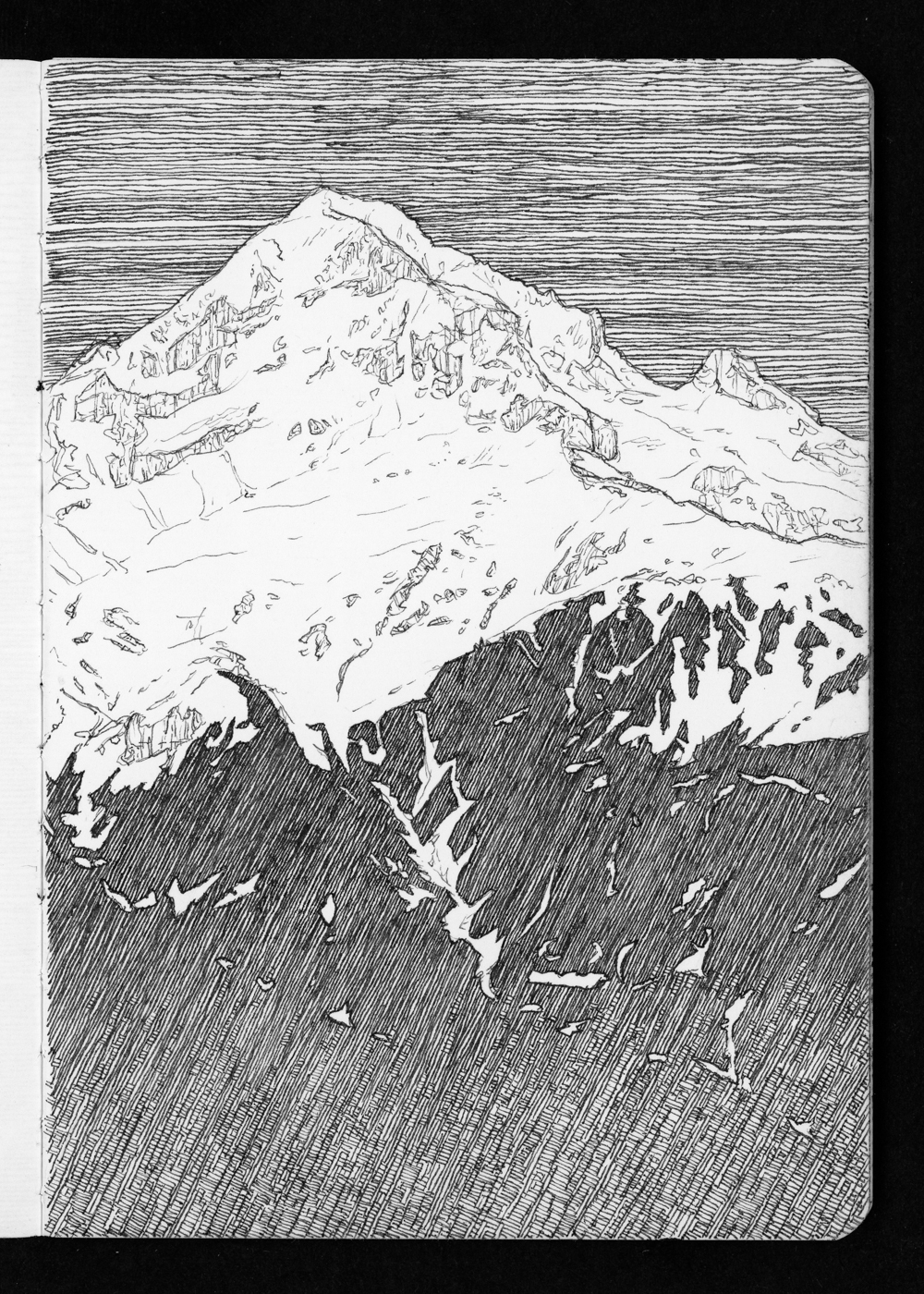 05-08 Mt Hood Over Muddy Fork Valley from Bald Mountain.jpg