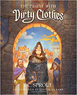 """The priest with Dirty clothes"" By R.C. Sproul - This is just one of several children's books written by the late reformed theologian. These books aim to teach profound truths to children. A great resource for the family."