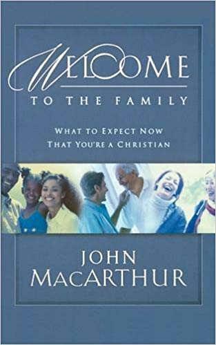 Welcome to the Family: What to expect now that you're a christianby John macarthur - Conversion from spiritual death to spiritual life is as jaring as it sounds. The way we see and interact with the world around us, our friends, and our family will never be the same. This small book is a helpful tool for any Christian who struggles to understand the contrast that has been placed within them from the world around them.