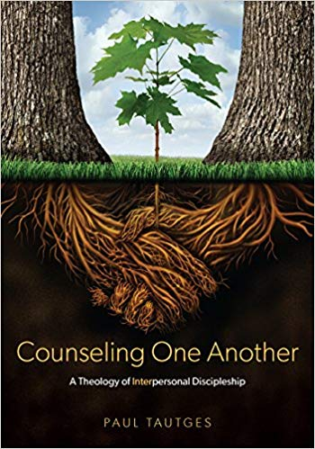 """Counseling One Another: A Theology of Interpersonal Discipleship""by Paul Tautges - To be a Christian is to be part of a body of other believers. Spiritual growth is not an individual event but is cultivated, encouraged, and developed in the context of the body. This helpful tool reveals the necessity and the process by which we grow together. Read a full review here.- Pastor Andy"