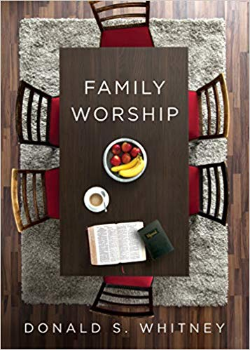 """FAmily Worship""by: Donald S. Whitney - If the church is built upon the same foundation as the family, and if the church is called to worship our great God, then it is imperative that we are worshiping together as families. This little book is so helpful in rediscovering the simple act of family worship. Read a full review here.- Pastor Andy"