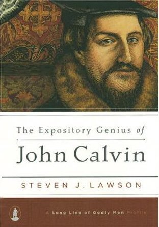 """The Expository Genius of John Calvin""by: Steven J. Lawson - As we reflect upon the impact and eternal blessing of those who sought to reform Christ's church from the darkness of Rome in the 16th century, you will find this little book to be informative, enlightening, and encouraging. The impact of Calvin's ministry continues to bless the saints to this day.- Pastor Andy"