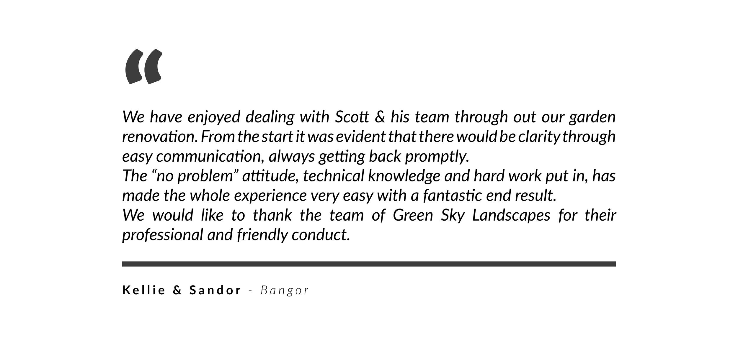 Green Sky Landscapes