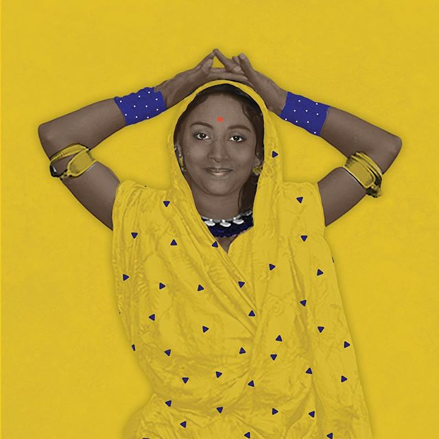 In our illustration by @julia.geiser, we wanted to represent the connection between tradition and empowerment. #empoweringwomen #changeagent #empowerment #tradition #saree #indianwomen #positivechange