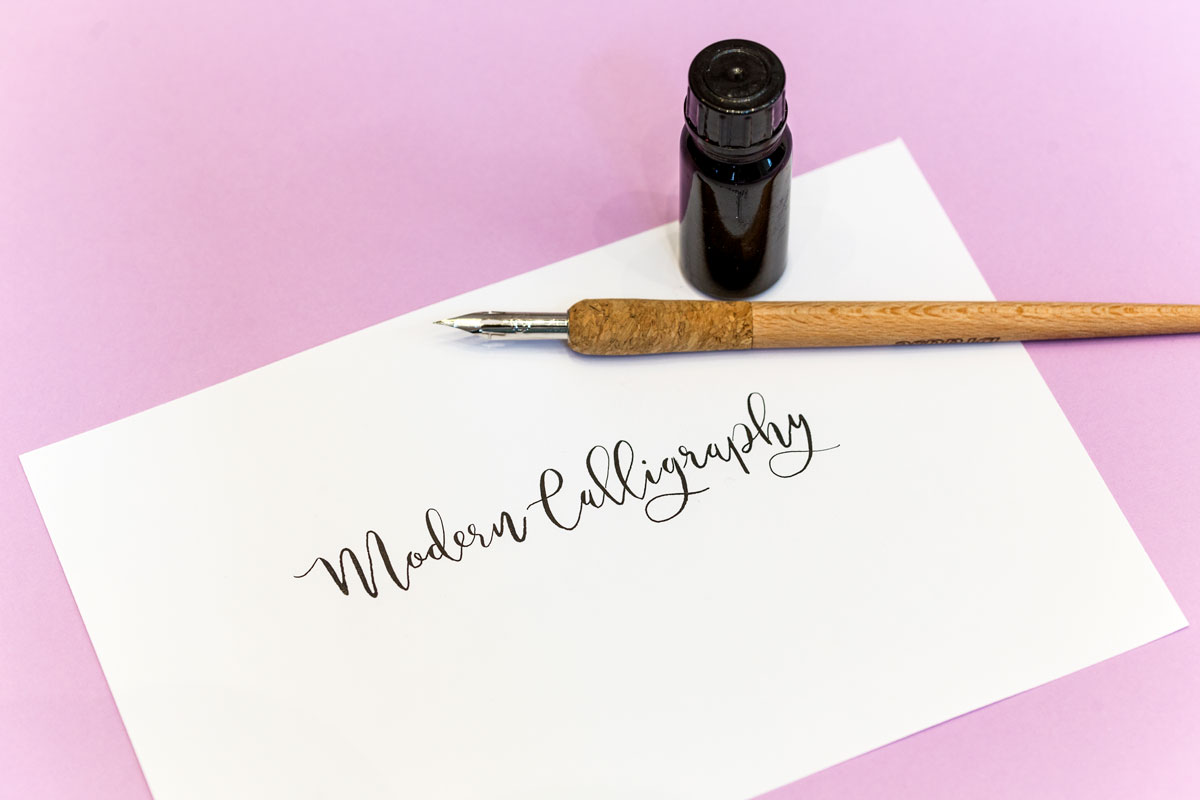 Modern Calligraphy Kursangebot   Schriftschatz   Duesseldorf