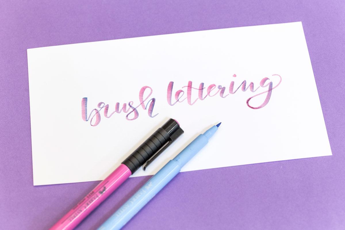 Brush lettering Kursangebot   Schriftschatz   Duesseldorf