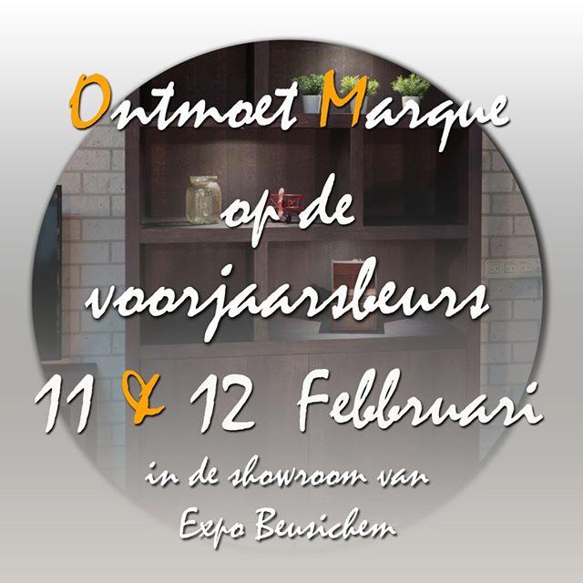 Afgelopen maandag en dinsdag presenteerde van der Drift Meubelen voor het eerst de #collectie# Marque. Chique #maatwerk# uit eerlijk #ambacht#, met de hand vervaardigde #kasten# en #tafels#, uitgevoerd in geborsteld eiken met de hoogst mogelijke afwerking.  Ontmoet ook Marque op de #voorjaarsbeurs# in de showroom van Expo #Beusichem#(alleen toegang voor de vakhandel) Voorjaarsbeurs (week 2)  locatie: Expo Beusichem  11 februari 2019 10.00 uur tot 20.00 uur  12 februari 2019 10.00 uur tot 18.00 uur  #Meubelhart Beusichem #Expo Beusichem #Voorjaarsbeurs 2019# #vanderdriftmeubelen#