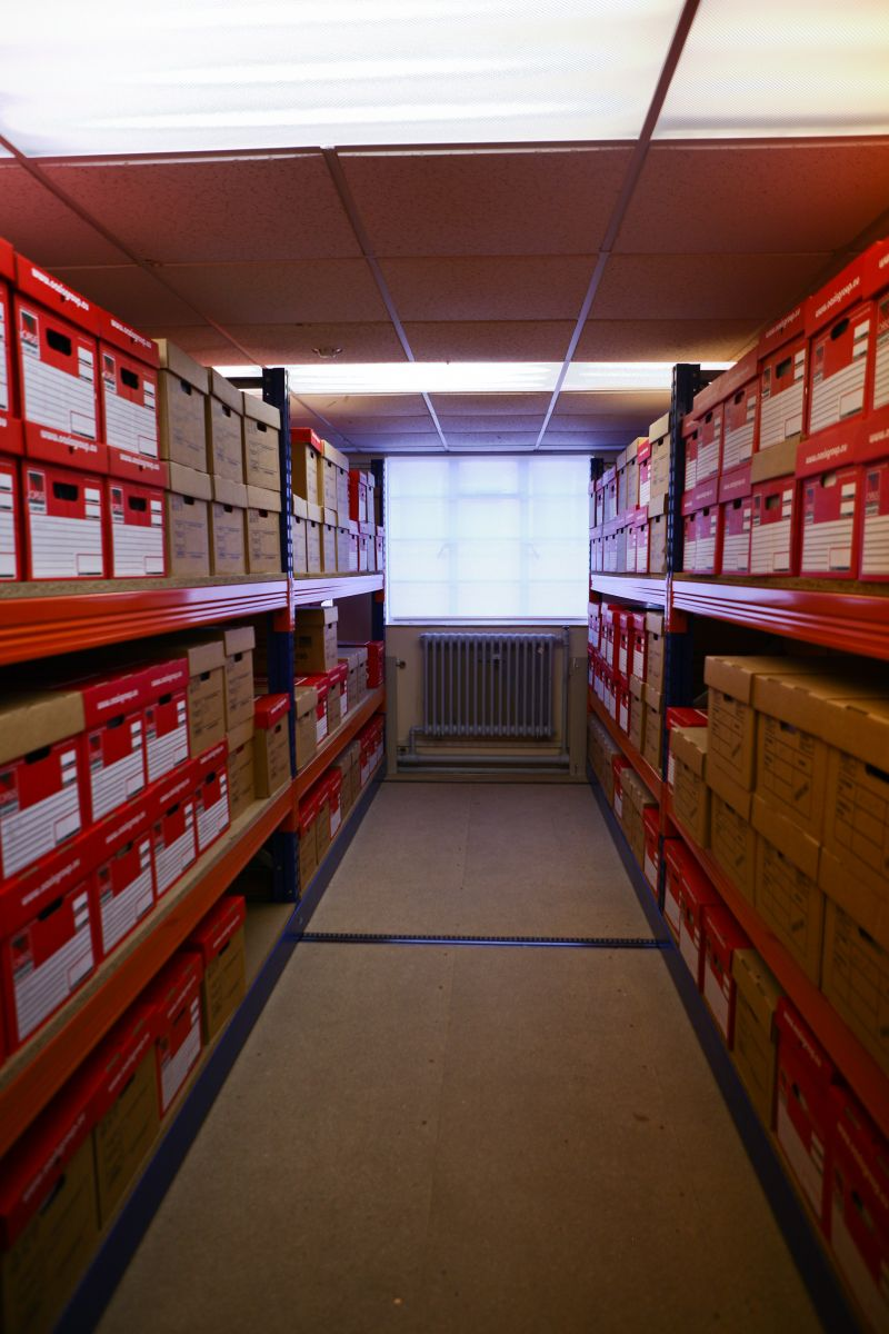 Part of our stored archive