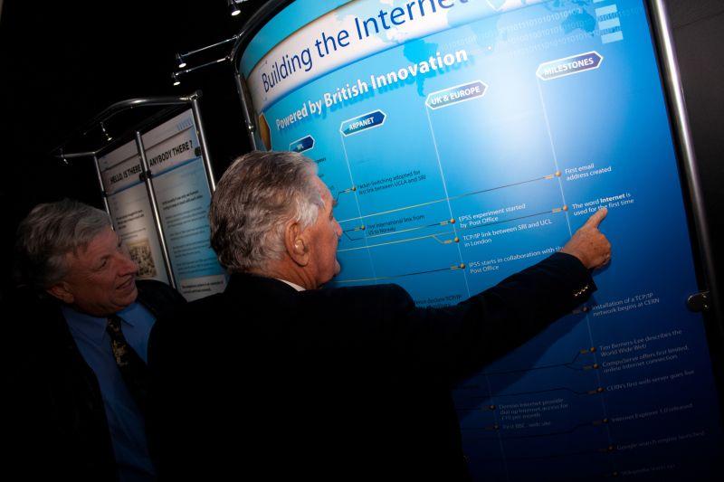 The internet timeline