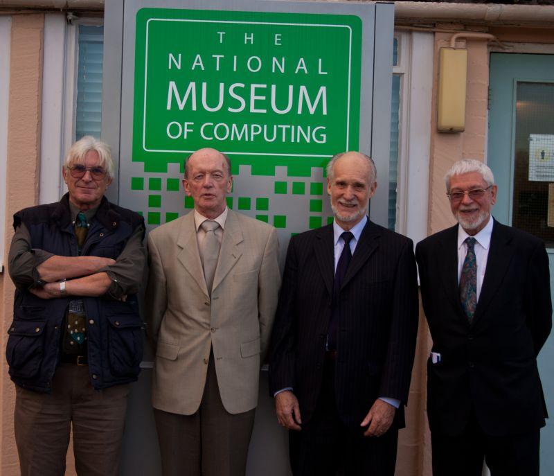 Four members of the original team