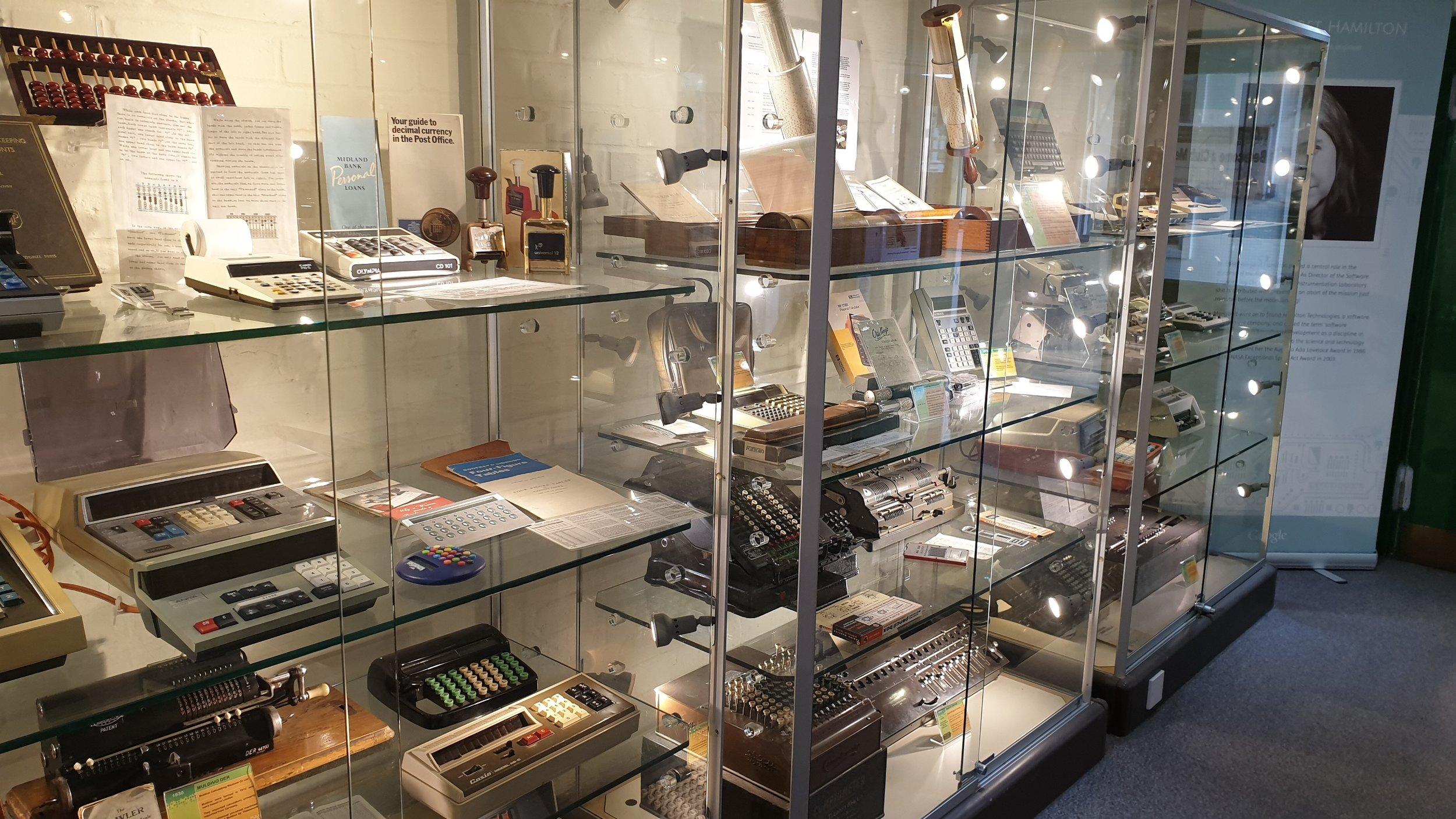 Calculator cabinets
