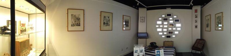 The W Heath Robinson at War exhibition. Photo: TechnoVisual