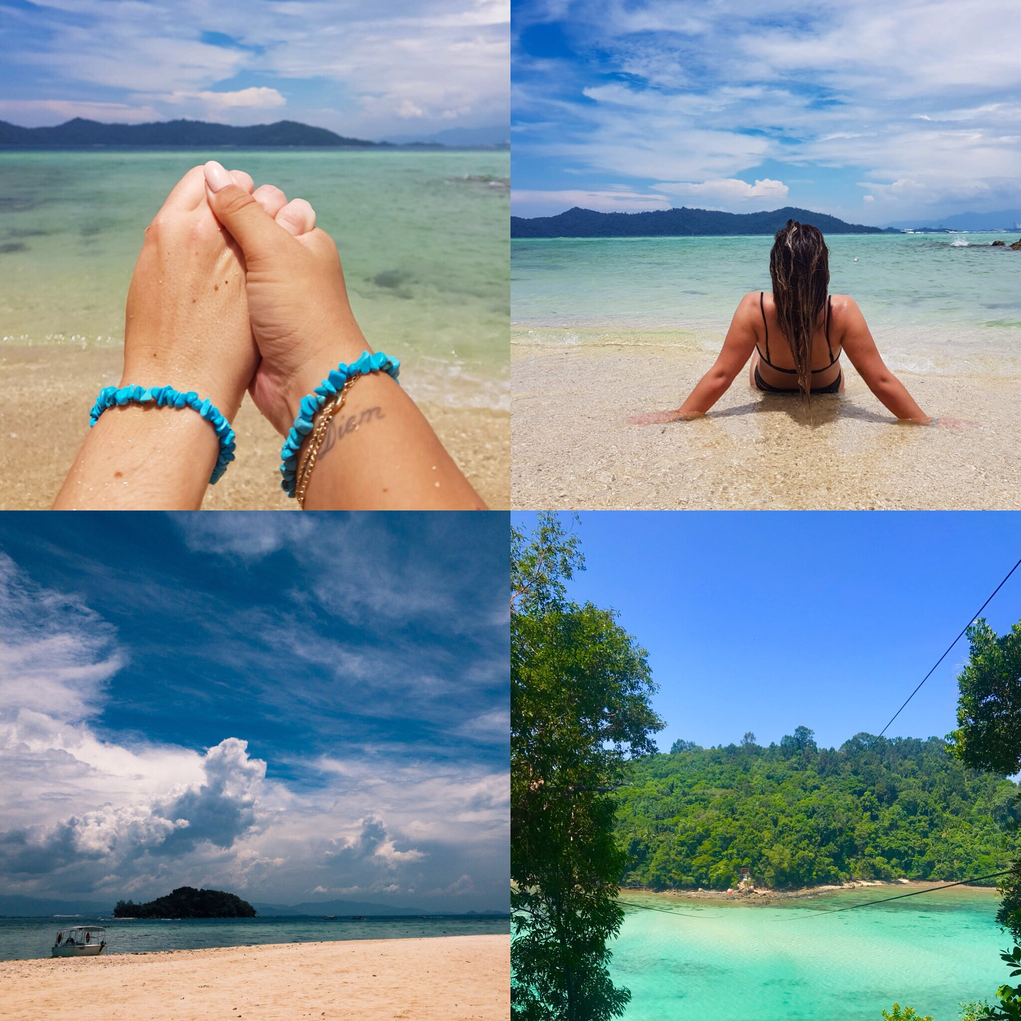 Bescherm armbandjes van bestie C gehad, Beachbabe Tess, tropical island vibes en ziplinen over de zee!