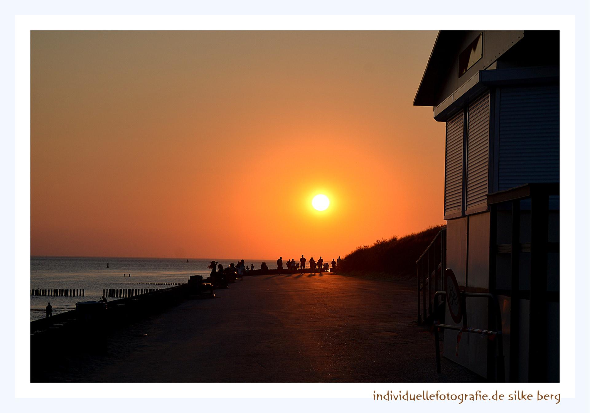 Sonnenuntergang, Meer, Nordsee, Menschen, Fotografien, Holland, Fotografin, Offenburg, Silke Berg