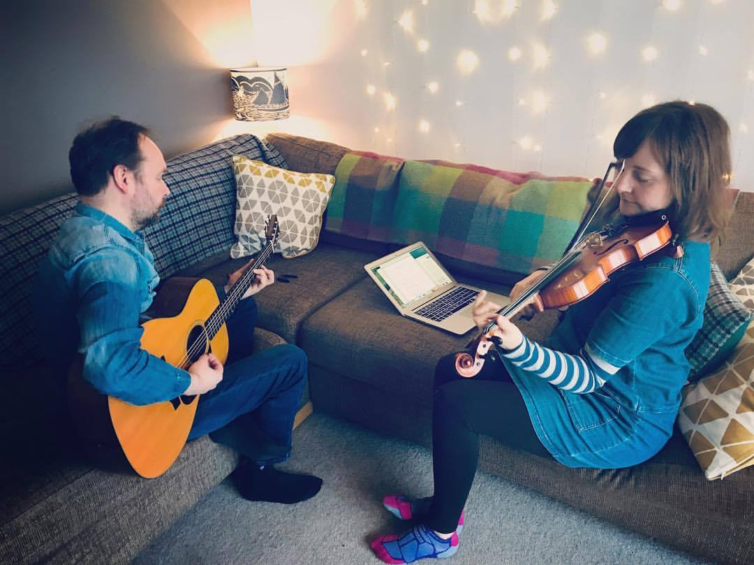 Rehearsal yesterday for album launches in Shetland and Aberdeen, 19th and 23rd January respectively. Looking forward to seeing some of you there!  .  .  .  .  @promoteshetland @shetlandheritage @thestringshetland @thebluelamp_abz #aberdeenfolkclub #robbieleask #shetlandfiddle #shetlandsong #guitar #lassestrustinprovidence #shetlandforwirds #clairewhite   https://www.instagram.com/p/BqpLlRrnEM9/?utm_source=ig_tumblr_share&igshid=1bskyxpyap7rn