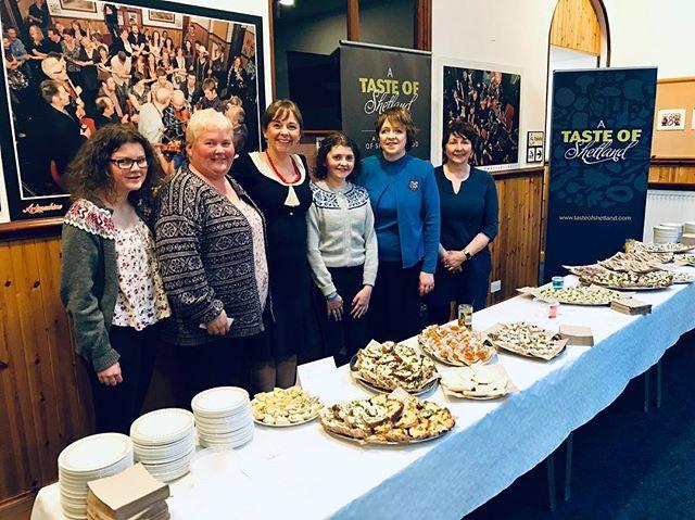 A joy to celebrate local culture at Shetland Folk Festival dastreen! Muckle bosies to aabody dat contributed or attended, an wissin you aa a splendid helly! 🎶😋 . . . . @tasteofshetland @armitagew4 @blyde_welcome @foodbymsbeaton @promoteshetland @shetlandfolkfest @barrydnisbet #shetlandfiddlerssociety #papastoursworddance @emmaanders0n1 @jenniferanderson2793 @sarahanderson1 #whatshetlandmeanstome #shetlandlamb #eggmayonnaise #smokedmackerelpate #saltcodpate #beremealbannocks @copeltd #shetlandeli @shetland.farm.dairies #skibhoulbakery #sandwickbakingcompany #voebakery @thuleventus #inspiredbyshetland #islesburghcommunitycentre