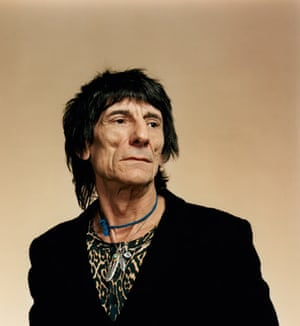 Ronnie Wood - Ronnie Wood is an English rock musician, songwriter, multi-instrumentalist, artist, author and radio personality best known as a member of The Rolling Stones since 1975, as well as a member of Faces and the Jeff Beck Group.