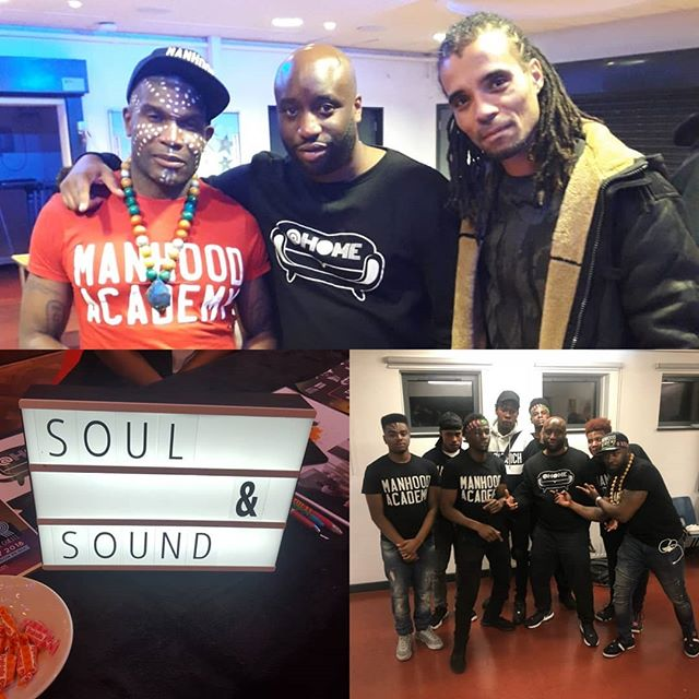 WOW another great evening for Soul and Sound and @manhoodacademy 💪🏾✊🏾 Big shout out to @akalamusic @mullastackz  for coming through 🎤🎶 and of course @manhoodacademy for making a difference to many of our young masters lives! 💛