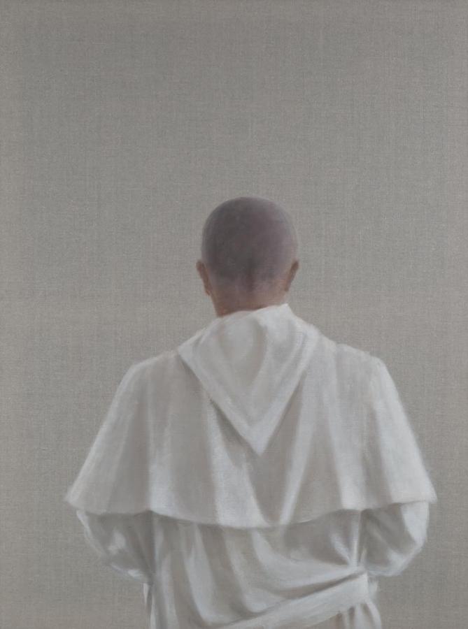 Monk Saint'Antimo III, Italy