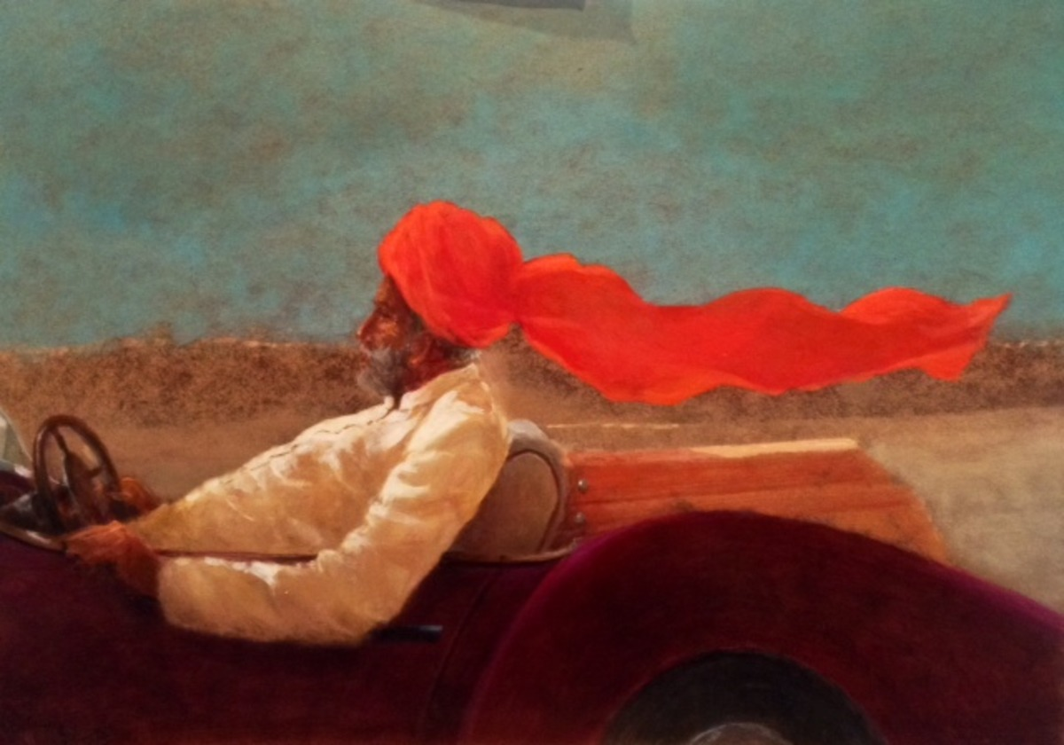 Maharaja at Speed, limited edition print (10)