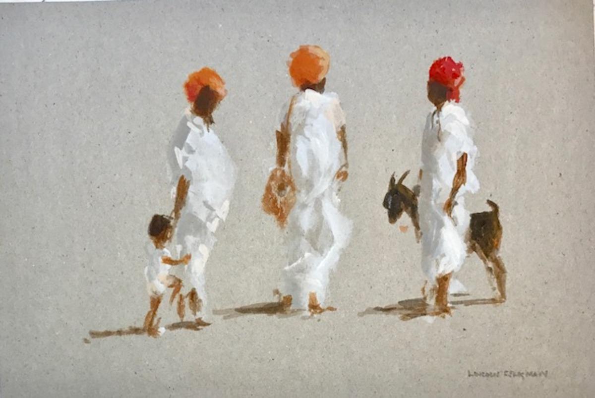Villagers near Jaipur