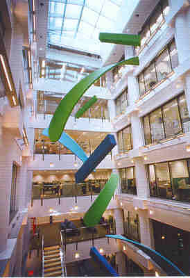 Hanging Sculptures for Cathay Pacific, HQ (Hong Kong)