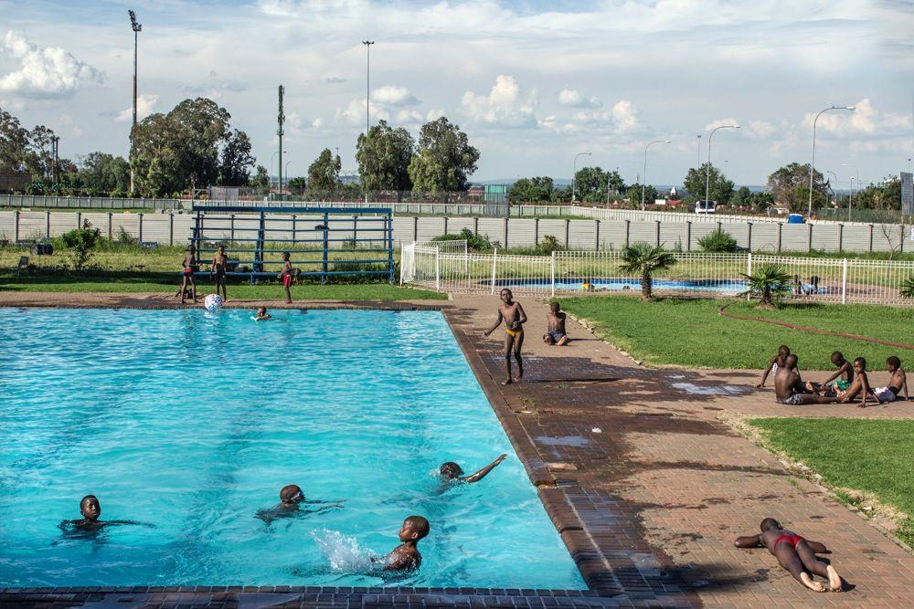 Sharpeville Swimming Pool,  Photographer  Tsepo Gumbi©