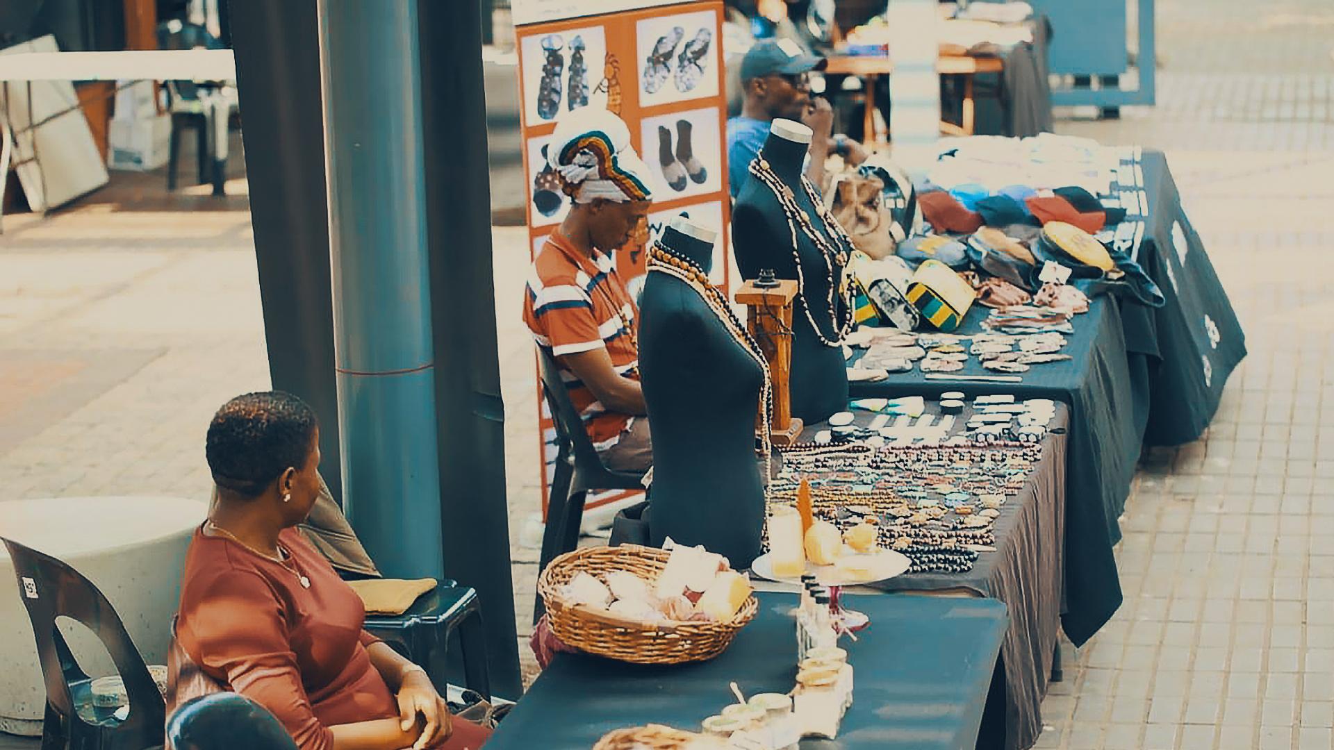Vendors  at Sharpeville Arts and Craft Market©