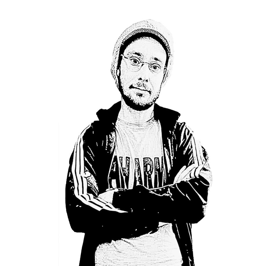 zelfportret 1 zwart wit helemaal klein gesneden.jpg