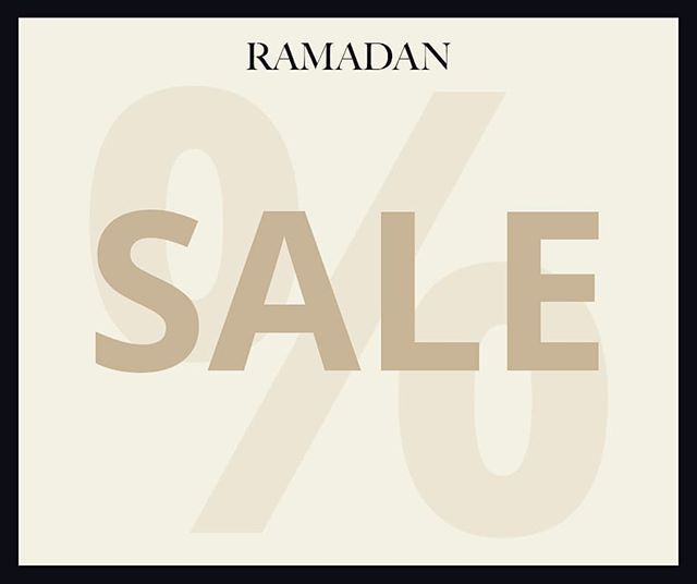 Please join us at the Mariamah showroom for a Ramadan Sale  Ground Floor,  House 321/4, Lane 5,  DOHS Baridhara, Dhaka, Bangladesh Tel - +8801712850771  Ramadan Hours: 9am to 530pm  Looking forward to your visit!