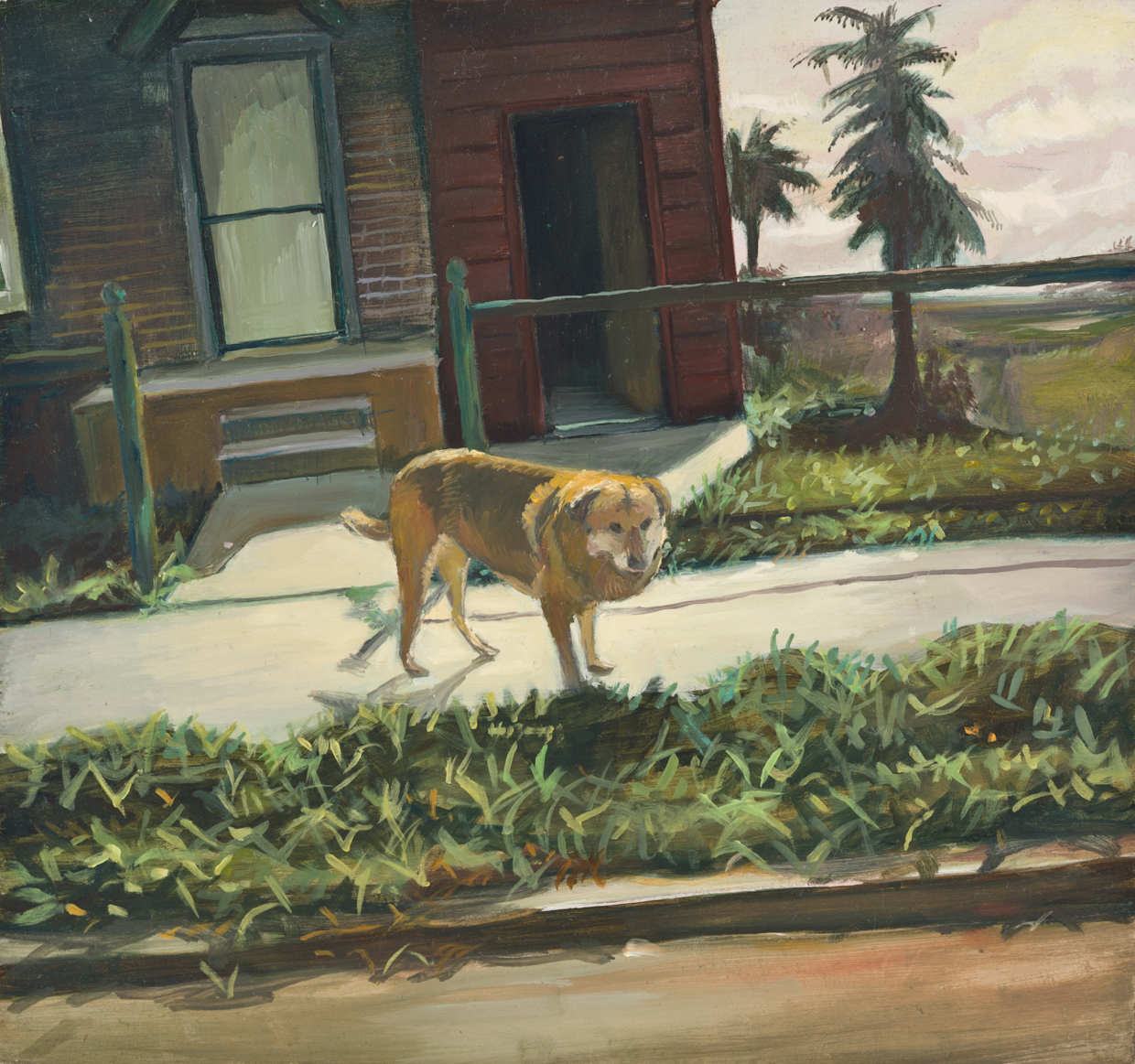 The Old Watch Dog 6 x 6.5 inches copy.jpg