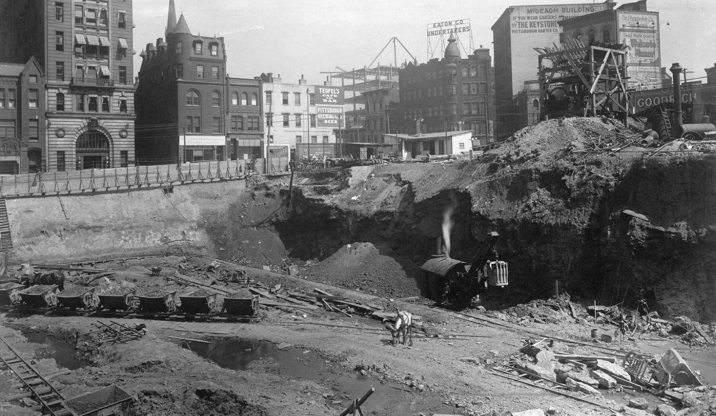 William Penn Hotel Excavation