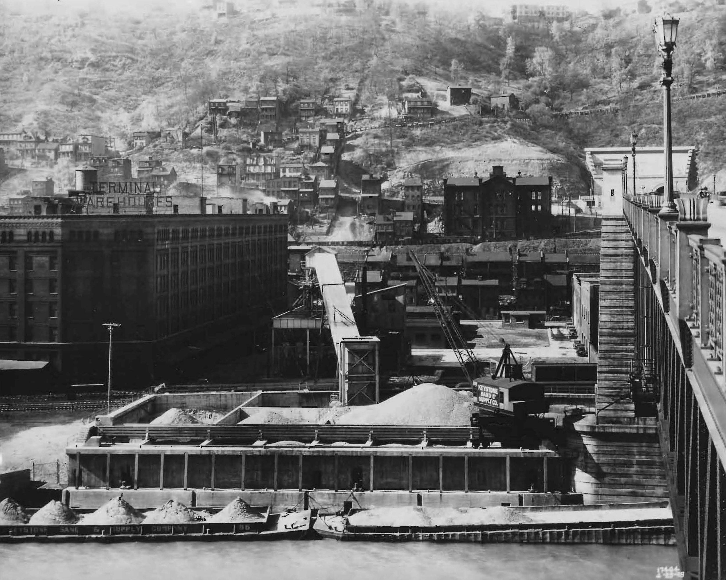 South Side River Landing - 1929