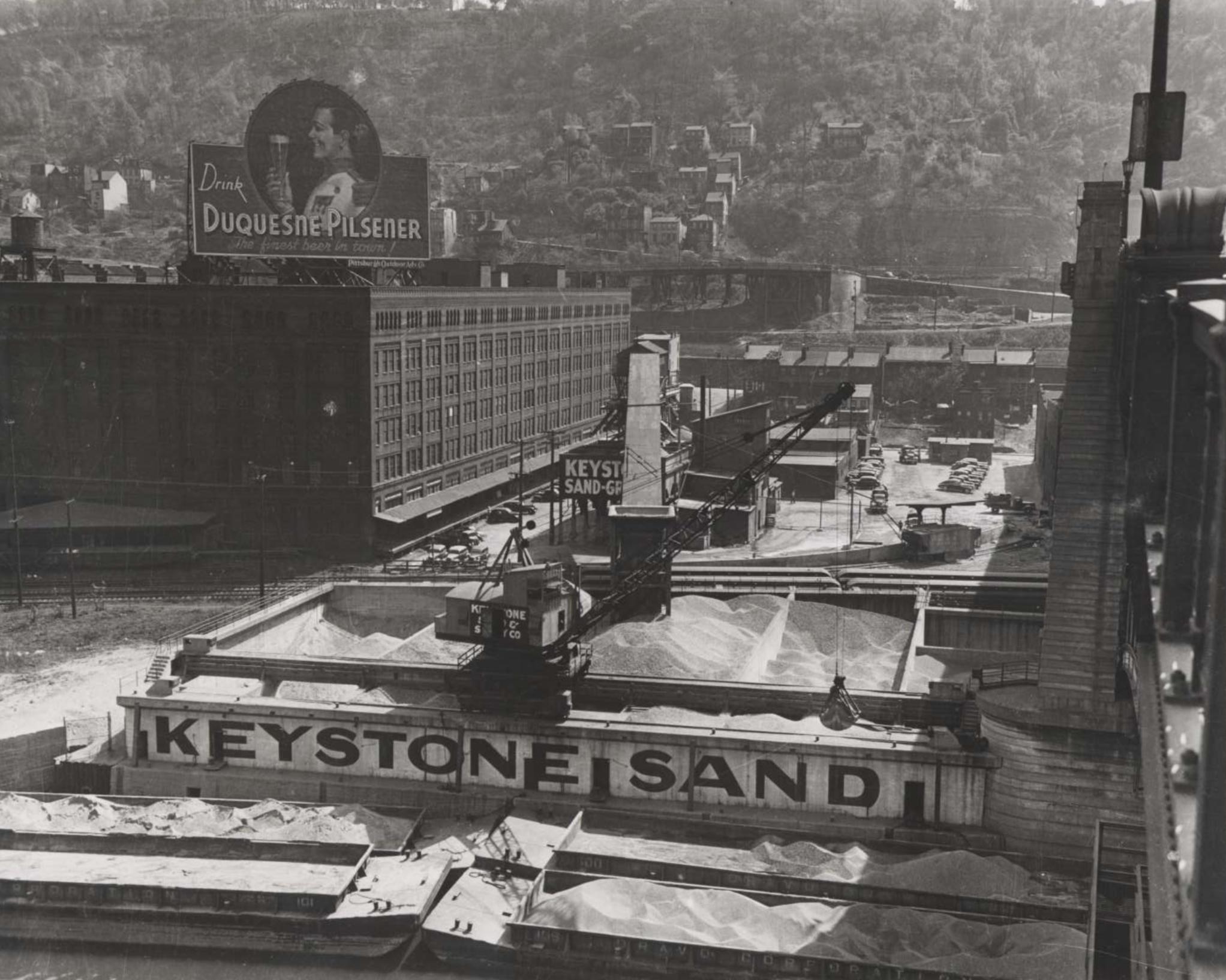 South Side River Landing - 1940s