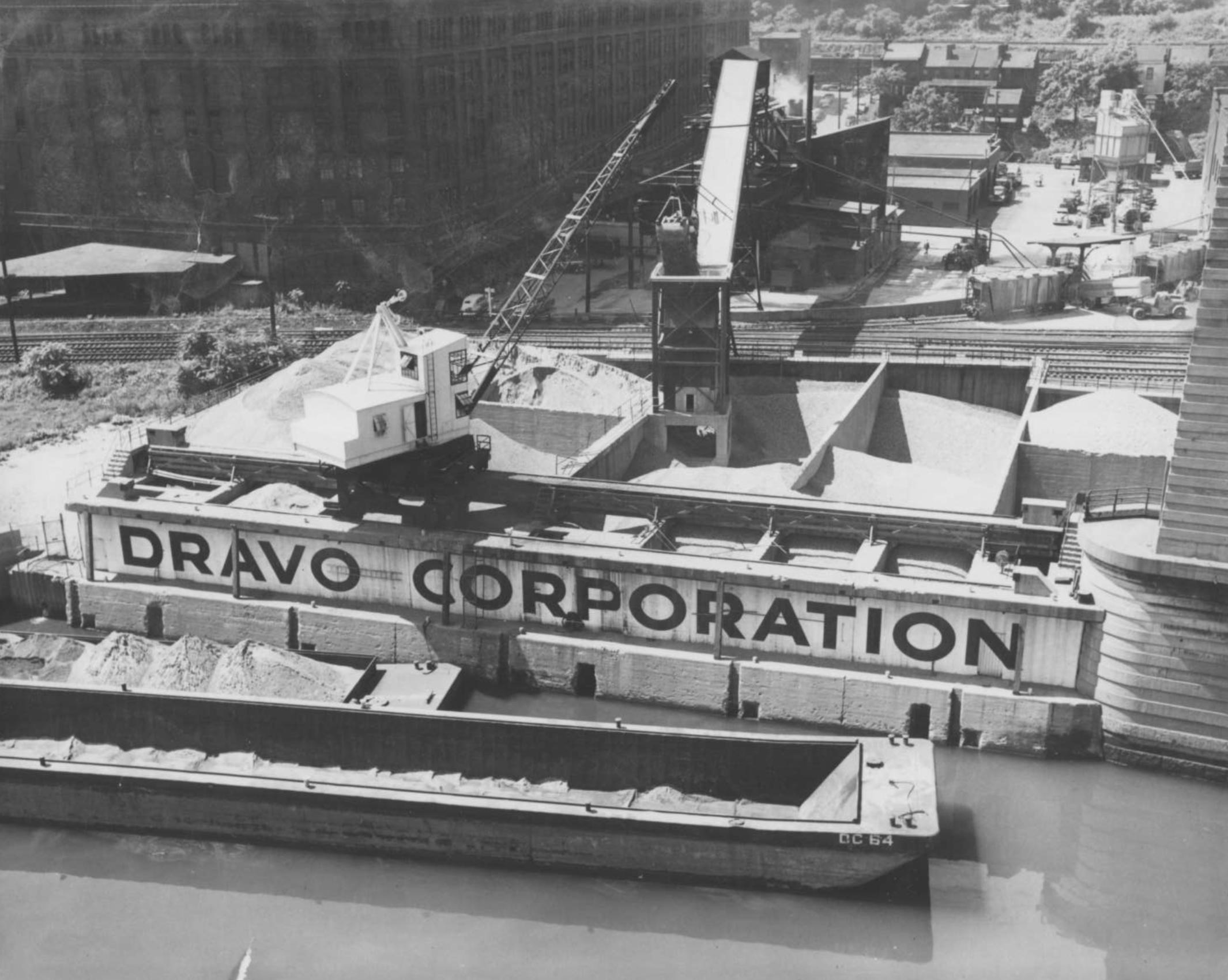 South Side River Landing - 1950s
